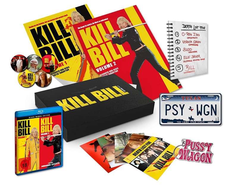 Kill Bill Volume 1&2 - Black Mamba Edition (Blu-ray) für 25€ inkl. VSK
