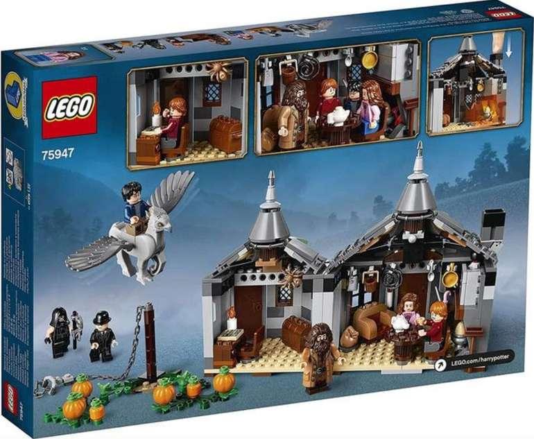 Lego Harry Potter - Hagrids Hütte: Seidenschnabels Rettung (75947) für 47,56€ (statt 60€)