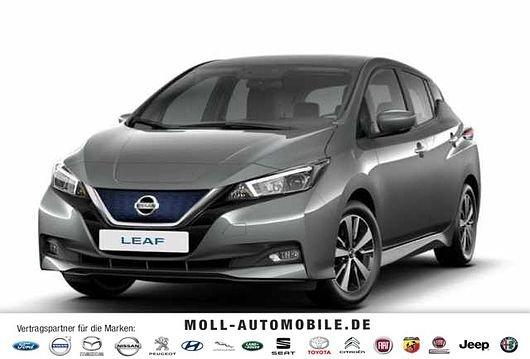 Nissan Leaf ZE1 Elektro-Fahrzeug mit 150PS ab 93,97€ mtl. Netto im Privat + Gewerbeleasing - LF: 0.33!
