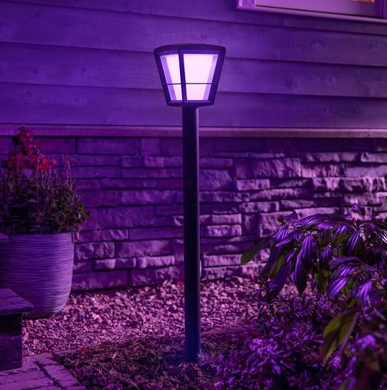 Philips Hue White and Color Ambiance Econic Outdoorlampe für 92,30€ inkl. Versand