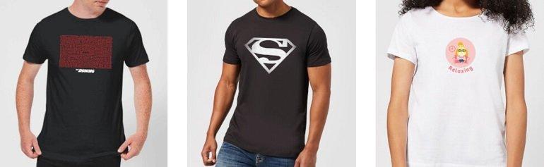 Zavvi T-Shirts Rabatt