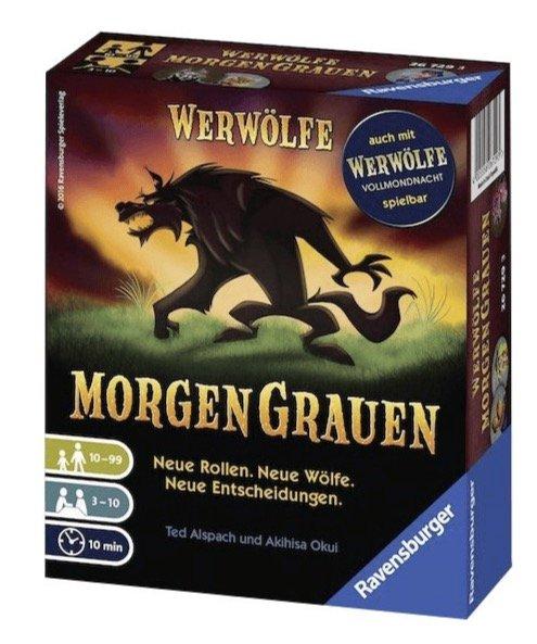 """Werwölfe Spiel & Erweiterungen im Angebot, z.B. """"MorgenGrauen"""" für 8,38€ (Prime)"""