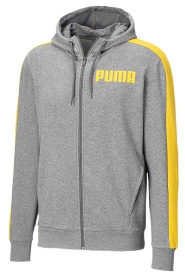 Puma Contrast Herren Sweatjacke mit Kapuze für 23,99€ inkl. Versand (statt 48€)