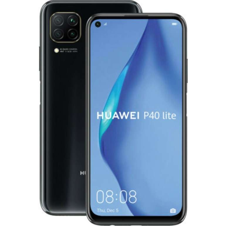 """Huawei P40 lite - 6,4"""" Smartphone mit 128GB Speicher (DualSIM, Android 10, NFC) für 169€ (statt 183€)"""