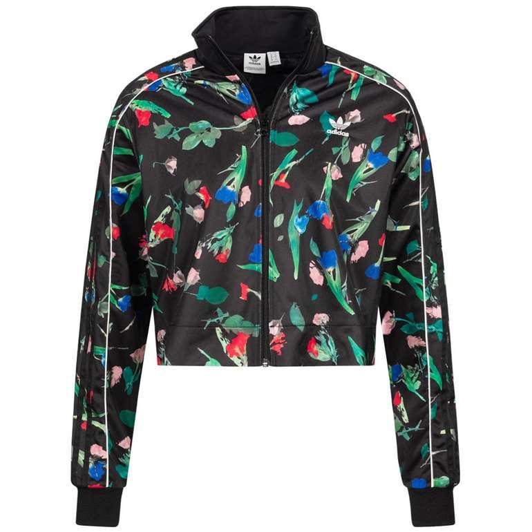 adidas Originals Bellista All Over Print Cropped Damen Trainingsjacke für 39,94€ (statt 53€)