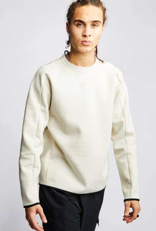 Nike Tech Fleece Herren Sweatshirts in Weiß für 39,99€ inkl. Versand (statt 50€) - XS, S!