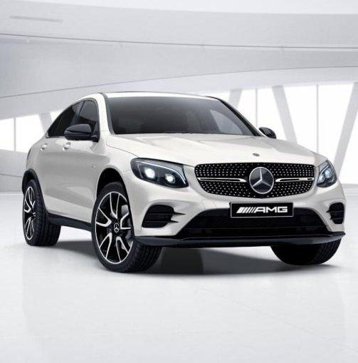 Mercedes-Benz GLC 43 AMG mit 367PS für 587,39€ mtl. Netto im Gewerbeleasing