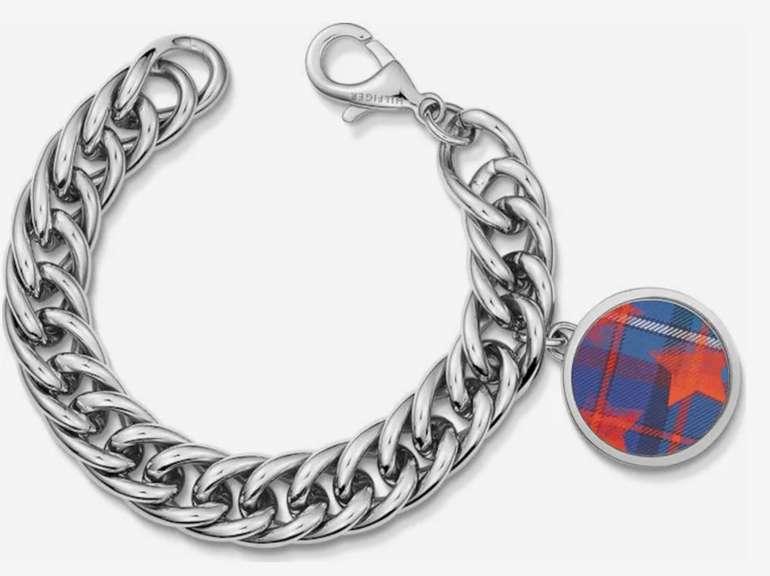 "Tommy Hilfiger Armband ""Classic Signature"" in blau / rot / silber für 29,90€ inkl. Versand (statt 55€)"