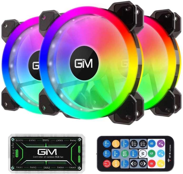 Amazon Deals: z.B. GIM RGB Gehäuselüfter für 16,99€ inkl. Prime Versand (statt 34€)