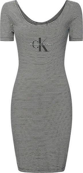 """Calvin Klein Jeans Kleid """"Monogram Stripe Ballet"""" für 27,99€ inkl. Versand (statt 39€)"""