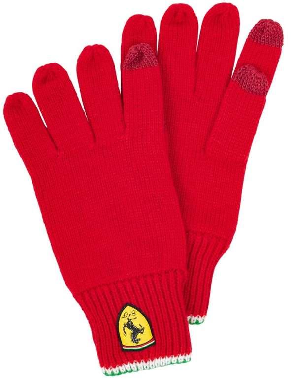 Scuderia Ferrari Strickhandschuhe für Touchscreen für 7,30€ inkl. Versand (statt 10€)