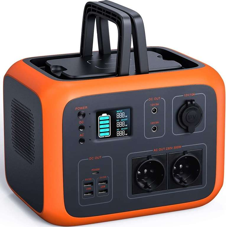 Tacklife tragbarer Akku Generator (500Wh, 300W) für 392,99€ inkl. Versand (statt 564€)