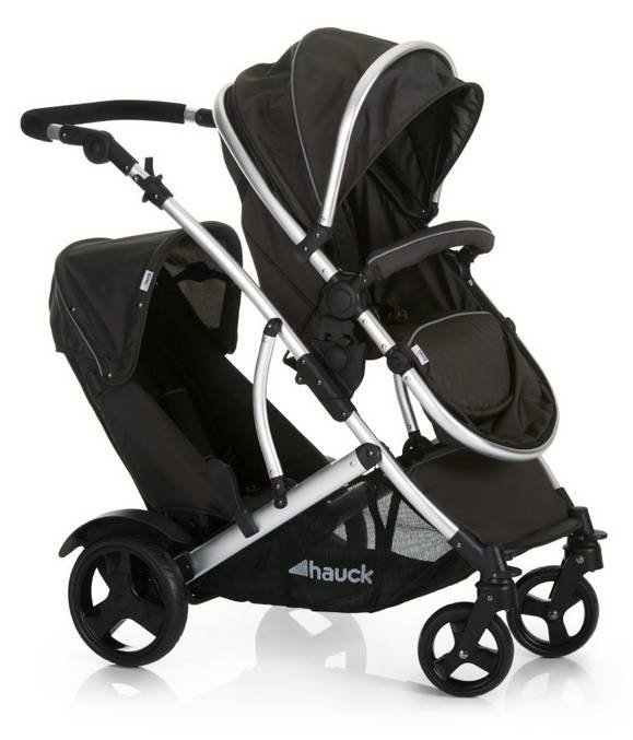 babymarkt: Bis zu 40€ Rabatt, z.B. Hauck Duett 2 Geschwisterwagen für 299€