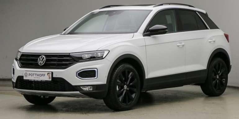 Gewerbe Leasing: Volkswagen T-Roc (A11) mit 150 PS (sofort verfügbar!) für 159€ netto mtl. (Überführung: 990€)