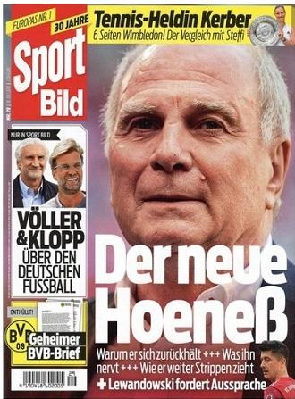 """6 Ausgaben """"Sport Bild"""" für nur 3,95€ – Keine Kündigung nötig! = 0,65€ pro Heft"""