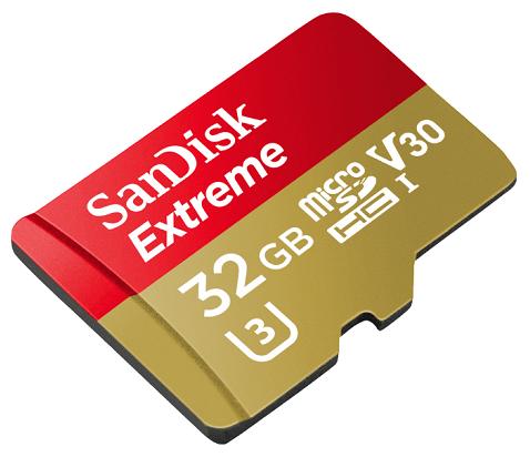 SANDISK Extreme - 32GB Micro-SDXC (Class 10) für 7€ (statt 11€)