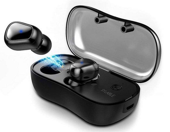 Syllable - D900P In-Ear Bluetooth Kopfhörer mit Ladestation für 21,59€ inkl. VSK