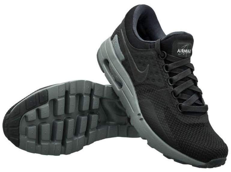 """Nike Air Max Zero Sneaker im """"black/dark grey/black""""-Colourway für 79,99€ inkl. Versand (statt 120€)"""