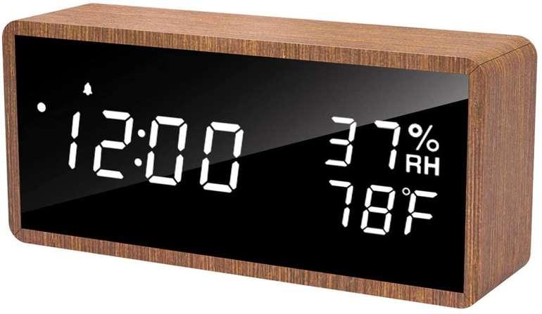 Meross digitaler LED Wecker bzw. Tischuhr für 13,99€ inkl. Prime Versand (statt 20€)