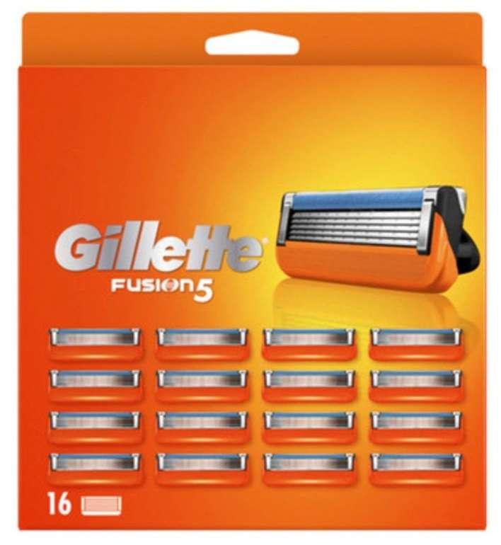 16er Pack Gillette Fusion 5 ProGlide Rasierklingen für 33,90€ inkl. Versand (statt 40€)