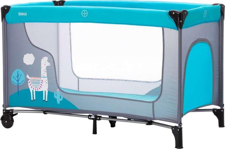 "Fillikid Reisebett Standard ""Lama"" (120 x 60 cm) für 39,99€ inkl. Versand (statt 55€)"
