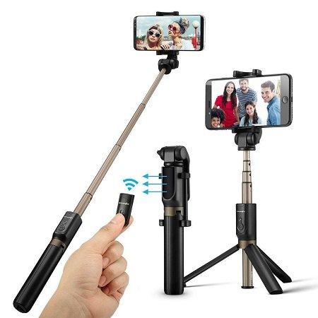BlitzWolf BW-BS3 Sports Versatile 3 in 1 Bluetooth Selfie Stick 13,99€ (Prime)