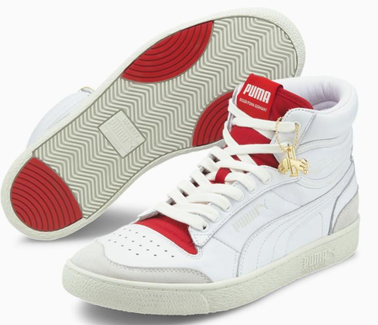 """Puma Ralph Sampson """"Mid Dassler Legacy"""" Sneaker in weiß-rot für 68,18€inkl. Versand (statt 98€)"""
