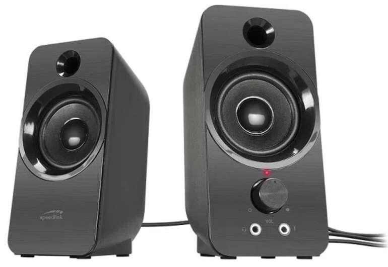Speedlink Daroc PC-Lautsprecher für 15€ inkl. Versand (statt 20€)