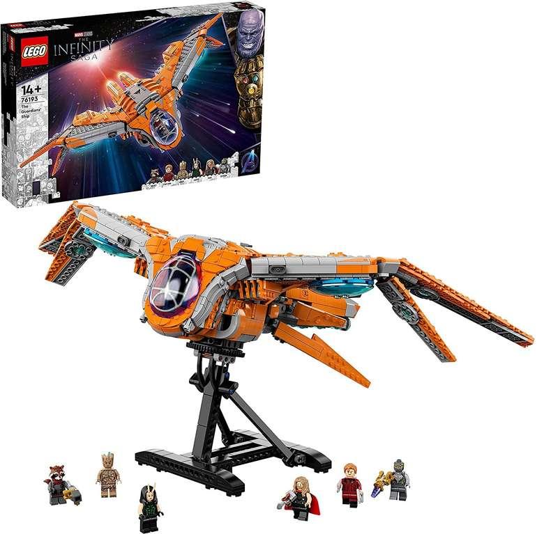LEGO (76193) Das Schiff der Wächter Bausatz für 99,90€ inkl. Versand (statt 113€)