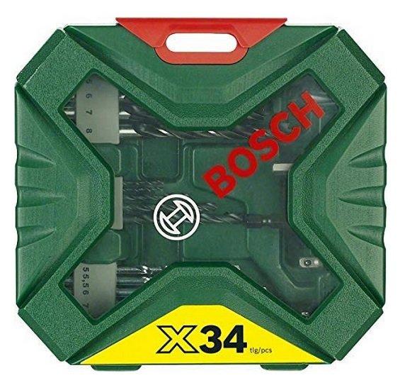 Bosch X-Line Classic Bohrer- und Schrauber-Set 34-tlg. 2