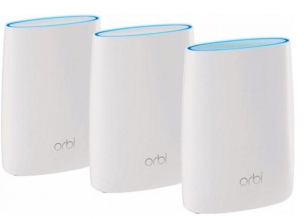 Netgear Orbi RBK50 + RBS50 Multiroom WLAN-System für 408,90€ inkl. Versand