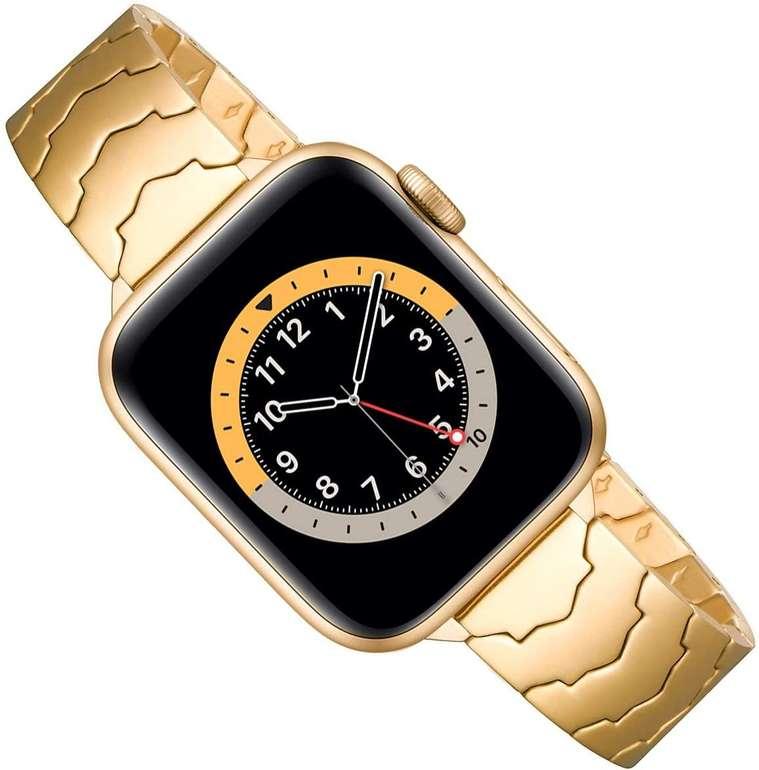 Gearyou Metall Armbänder (Apple Watch kompatibel) für je 5,70€ inkl. Prime Versand (statt 18€)