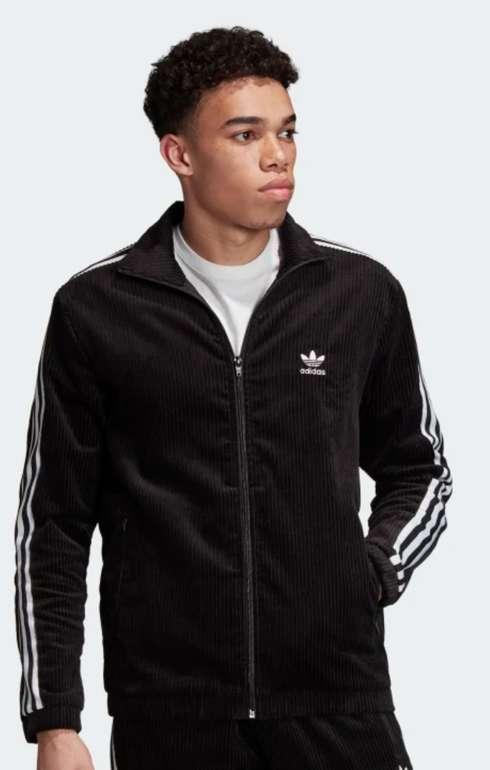 adidas Corduroy Originals Jacke in schwarz für 41,58€ inkl. Versand (statt 52€)