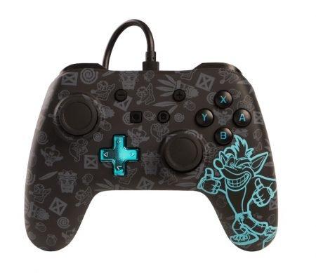 Nintendo Switch Controller Power A Crash Bandicoot Wired für 21,99€ (statt 35€)