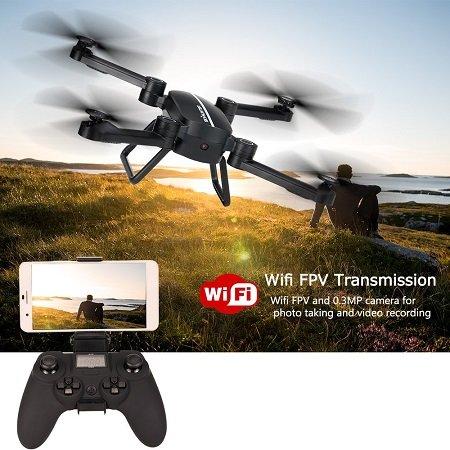 Goolsky JIE-Star X8TW WiFi FPV 0.3MP 6 Achsen Gyro Drohne für 29,99€ inkl. VSK