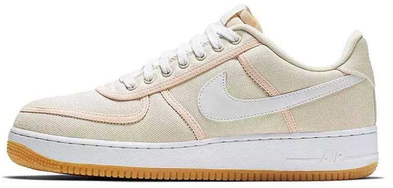 """Nike Air Force 1 ´07 Premium Damen Sneaker im """"Light Cream White Crimson Tint"""" Colourway für 65,11€"""