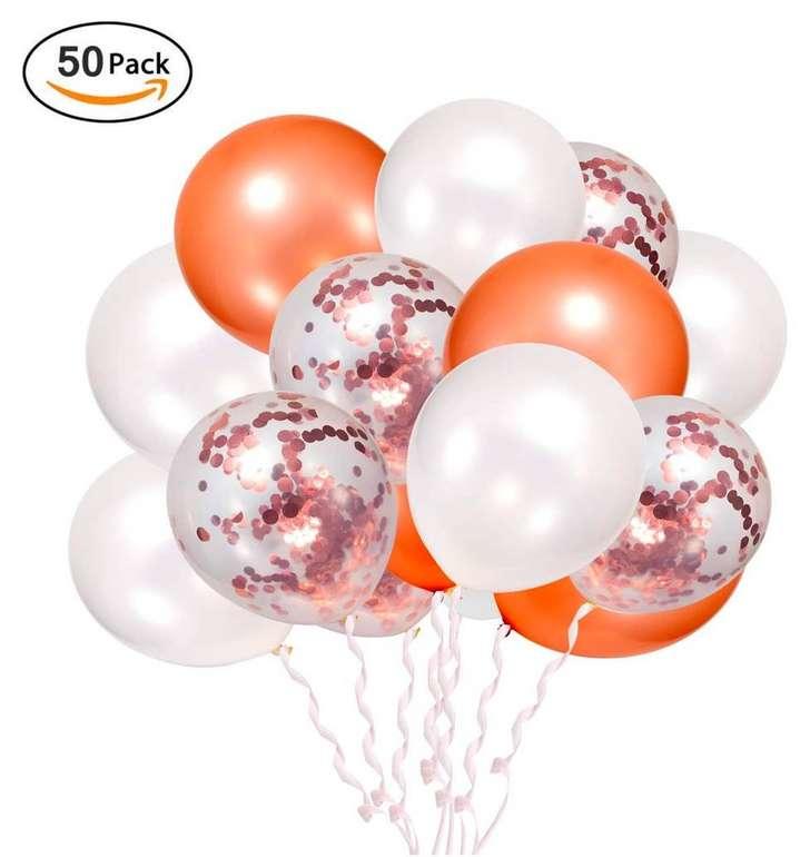 50 Lebexy Luftballons (zum Befüllen mit Helium geeignet) für 2,99€ mit Primeversand