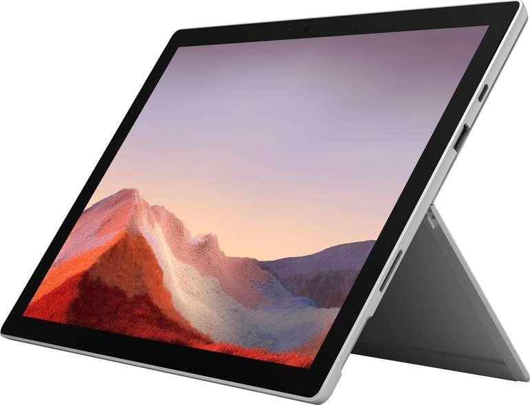 Microsoft Surface Pro 7 - 12.3 Zoll Convertible Notebook mit i5 Prozessor, 8 GB RAM, 256 GB SSD für 999€