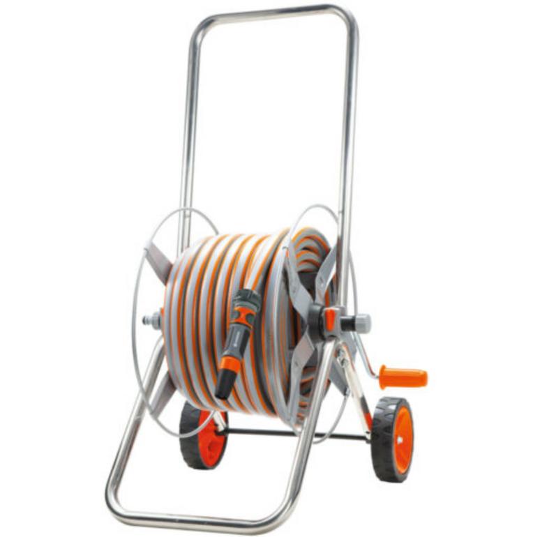 Gardena Metall-Schlauchwagen-Set mit 20m Schlauch für 39€ inkl. VSK (statt 50€)
