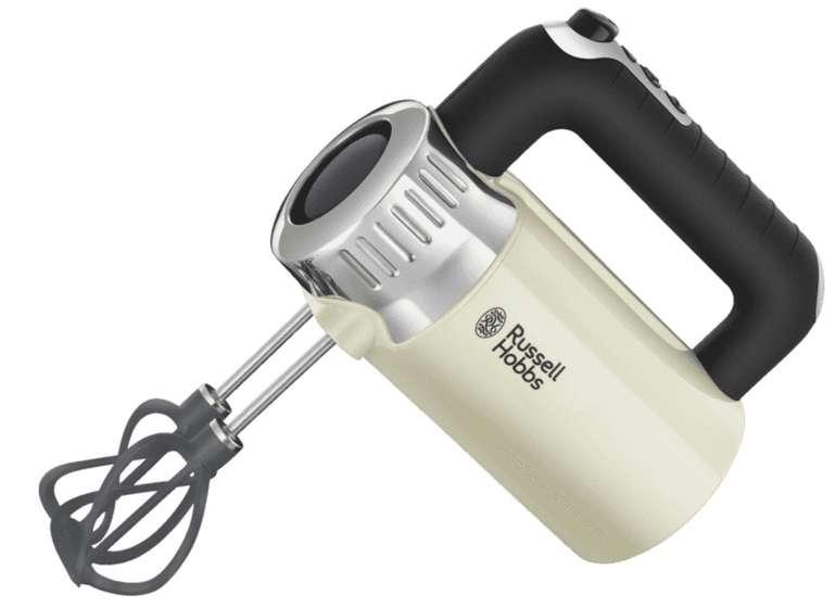 Russell Hobbs 25202-56 Retro Vintage Handmixer mit 500 Watt für 39,99€ inkl. Versand (statt 45€)