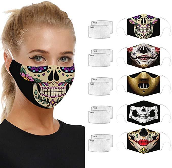 Eaylis 5er Pack Mund-Nase-Masken inkl. 10 Filter ab 6,93€ inkl. Versand (statt 16€)