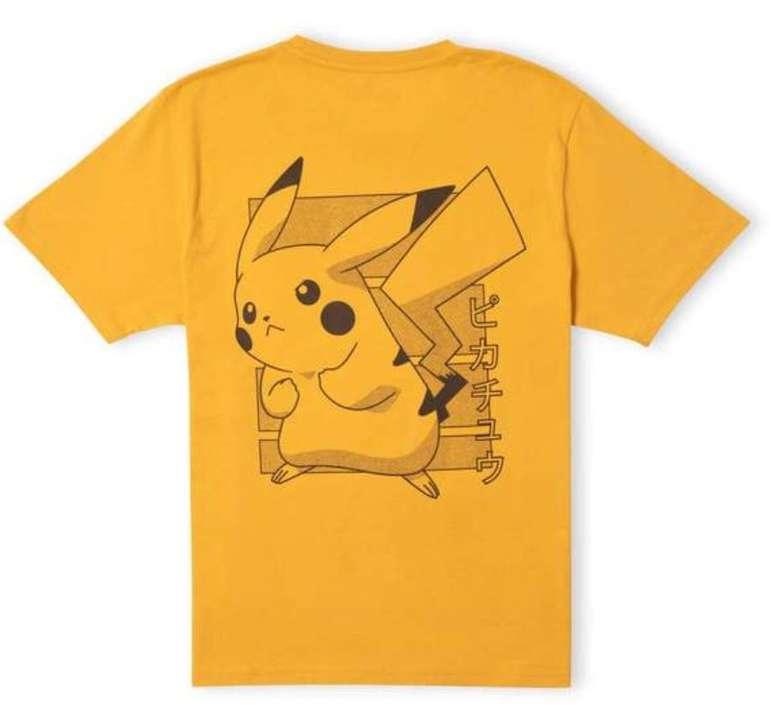 Pokémon Pikachu Power Up Unisex T-Shirt für 9,99€ inkl. Versand (statt 17€)