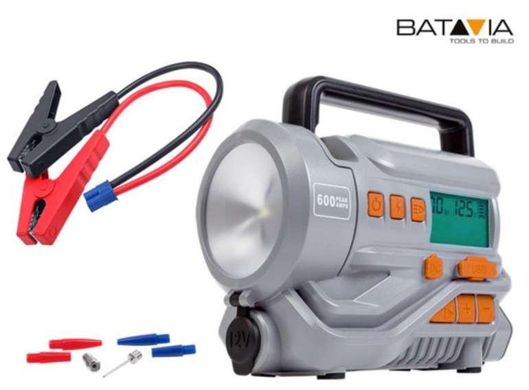 Batavia Maxx Series Energiestation & Kompressor (Starthilfestrom 12V=600A, 150 PSI / 10 Bar) für 55,90€