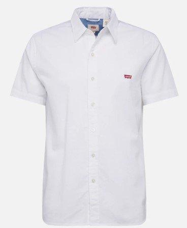 Levi's Hemd 'Battery' in weiß für 23,17€ inkl. Versand (statt 43€)