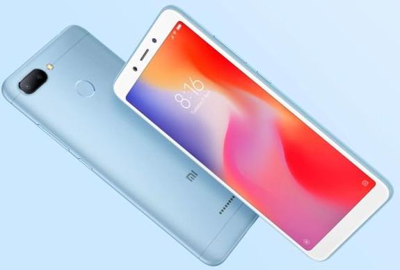 Xiaomi Redmi 6 - 5,45 Zoll Smartphone, blau 64GB Speicher für 135,89€ inkl. VSK