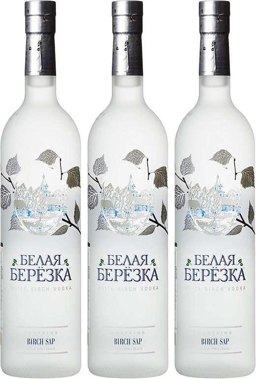 3 Flaschen White Birch Russian Vodka (3 x 0.7 l) für 25,70€ inkl. Versand (statt 43€) - Prime!