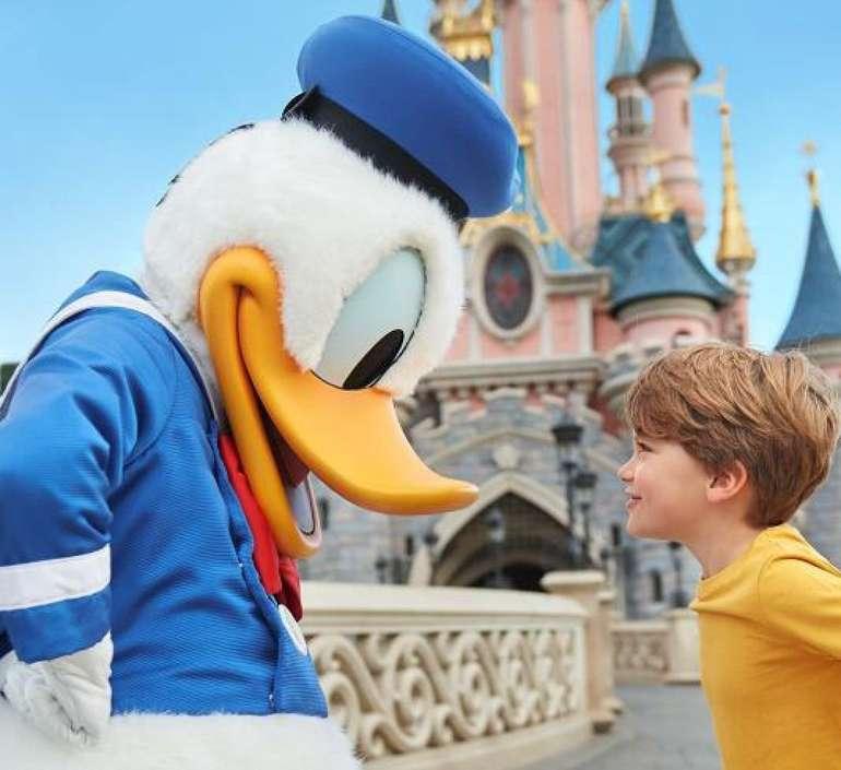Paris - Disneyland Paris Ticket + 4* Hotel ab 99€