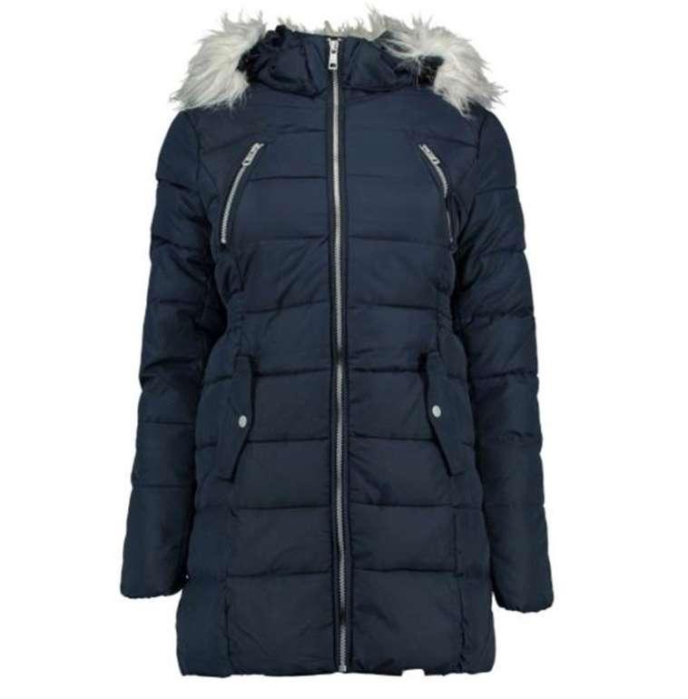 Hailys TL-0161211 dblue Damen Jacke mit Fake-Fellkragen für 19,90€ inkl. Versand (statt 60€)