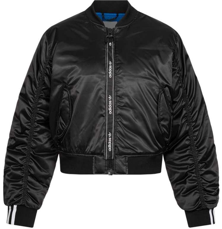 adidas Originals Cropped Damen Bomberjacke in schwarz für 59,99€inkl. Versand (statt 139€)