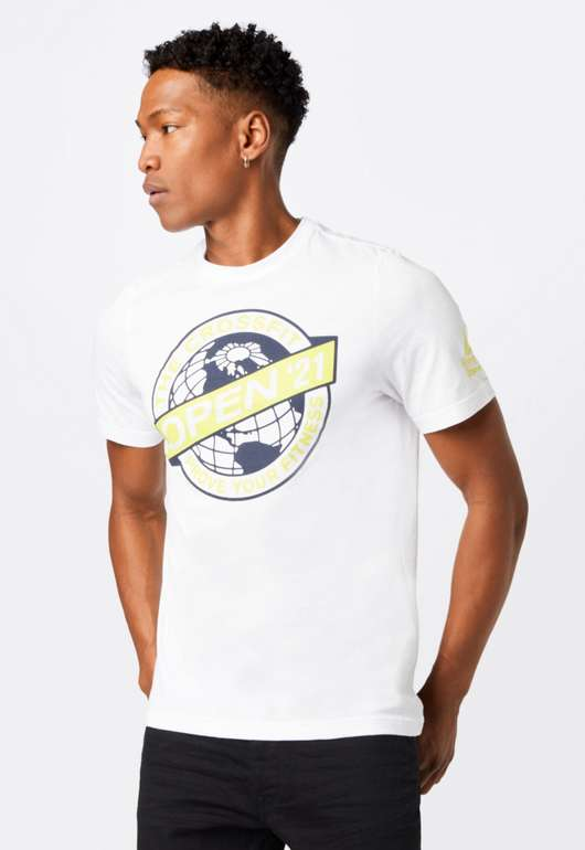 Reebok RC 2021 Herren Shirt in Weiß für 10,90€inkl. Versand (statt 20€)